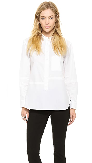 Victoria Beckham Pocket Man's Shirt
