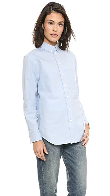 Victoria Beckham One Pocket Man's Shirt