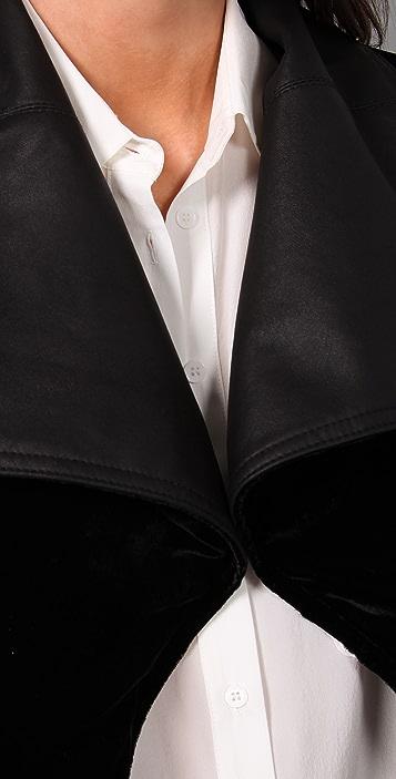VEDA Idaho Reversible Leather Jacket