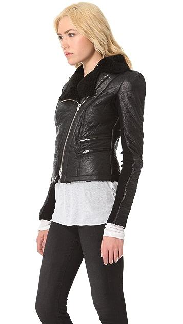 VEDA Globe Shearling Jacket