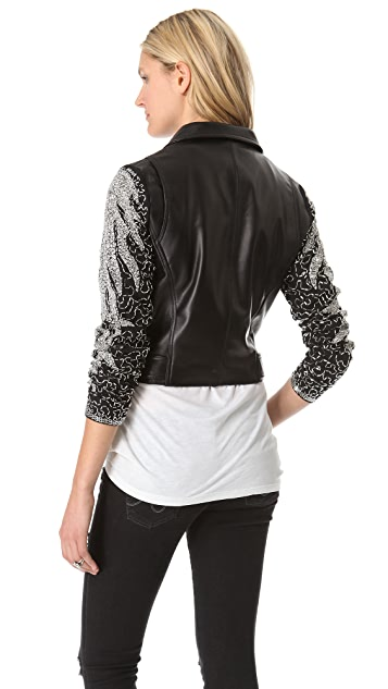 VEDA Aquarius Leather Jacket