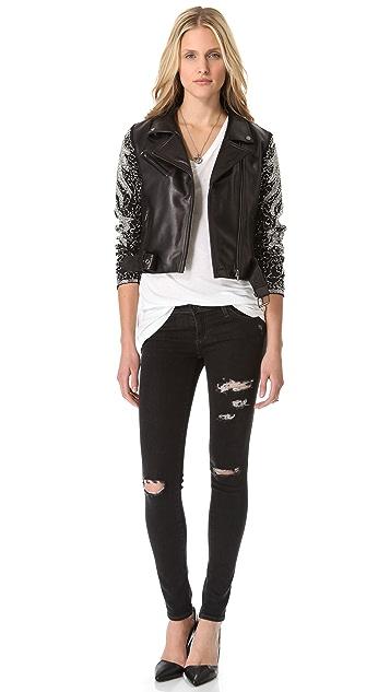 VEDA Aquarius Leather Jacket