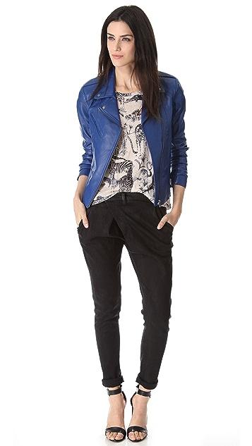 VEDA Topaz Leather Jacket