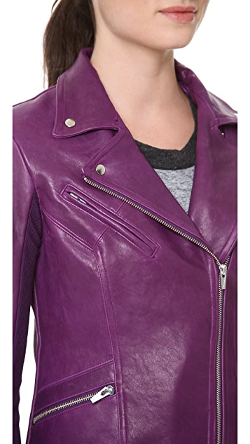 VEDA Dynasty Leather Jacket