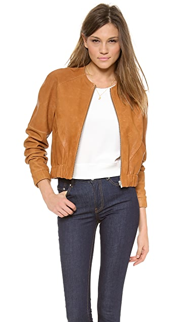 VEDA Atomic Leather Jacket