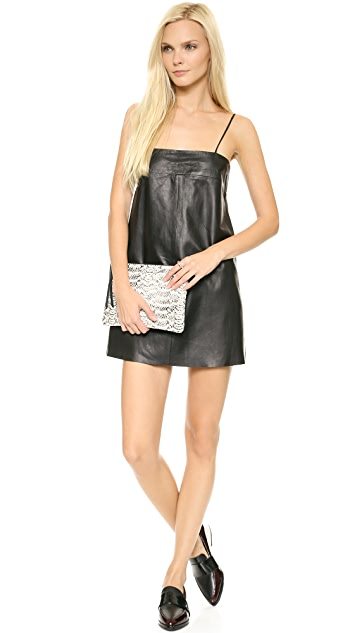 VEDA Pixie Leather Dress