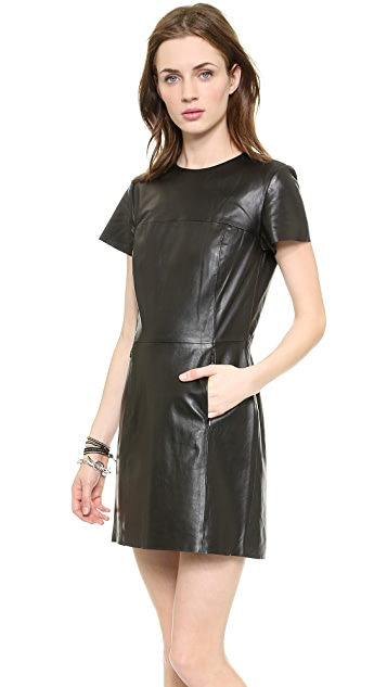 VEDA Beverly Leather Dress