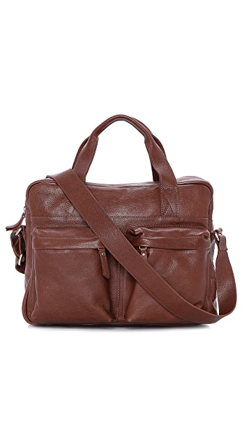 Veja Acacia Leather Briefcase