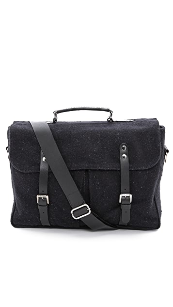 Veja La Panoplie Cartable Flannel Briefcase