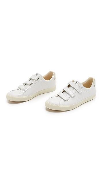 Veja Esplar Velcro Leather Sneakers