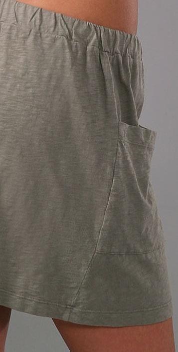 Velvet Brosie Slub Skirt