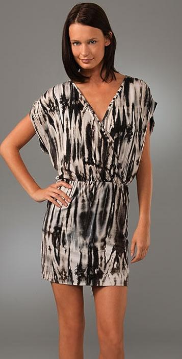 Velvet Leona V Neck Dress