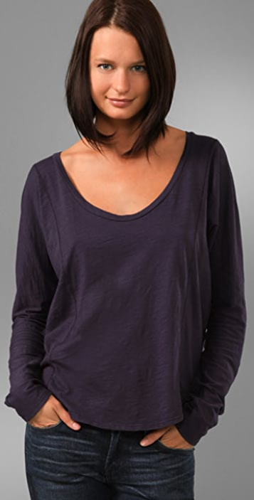 Velvet Abby Crew Neck Top