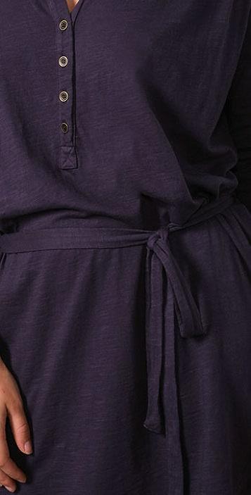 Velvet Carol 4 Button Dress