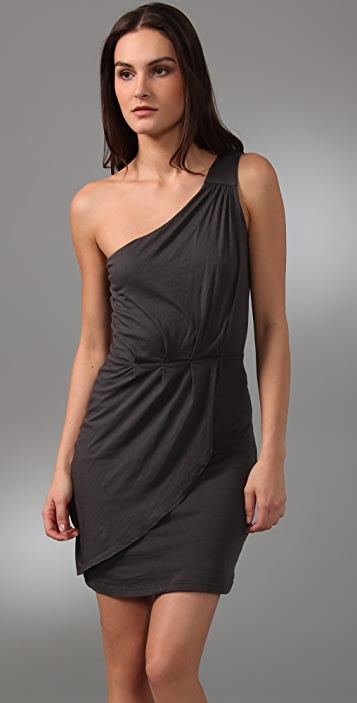 Velvet Nola One Shoulder Dress