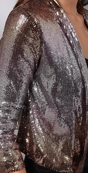 Velvet Dixon Ombre Sequin Cardigan