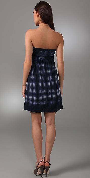 Velvet Adalia Tie Dye Strapless Dress