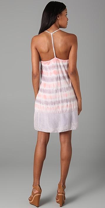 Velvet Saree Honolulu Tie Dye Stripe Dress