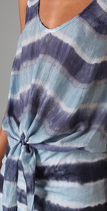 Velvet Nettice Honolulu Tie Dye Stripe Dress