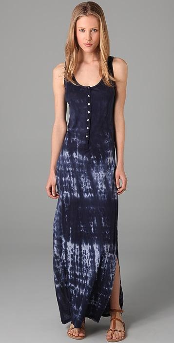 Velvet Melba Tie Dye Long Dress