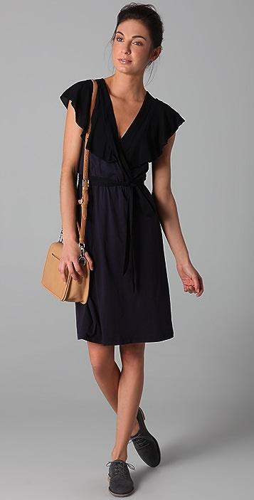 Velvet Shanley Wrap Dress