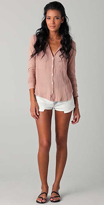 Velvet Mick Button Down Shirt