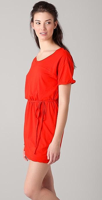 Velvet Denit Dress