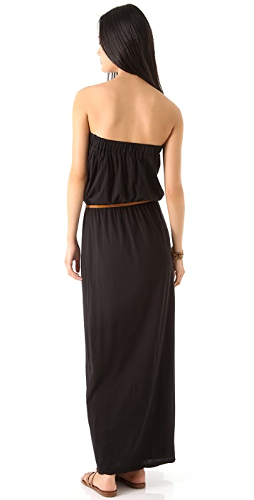 Velvet Missie Strapless Maxi Dress