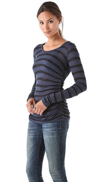 Velvet Lotna Stripe Top