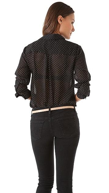 Velvet Zhi Mini Dot Shirt