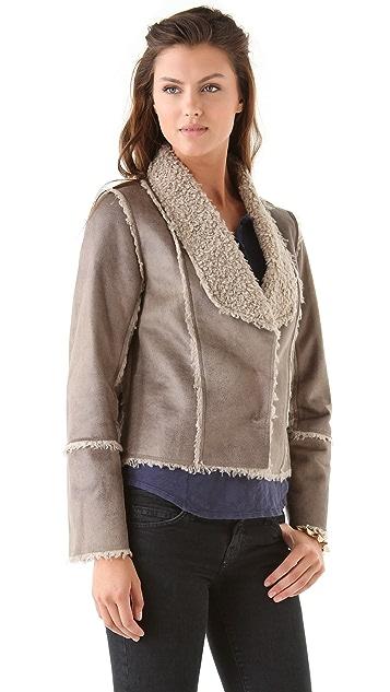 Velvet Dolce Urban Sherpa Jacket