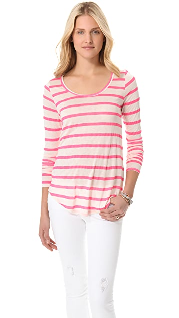 Velvet Minerva Striped Top