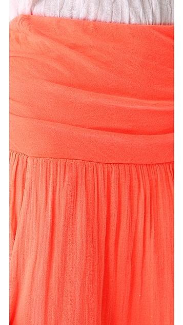 Velvet Gauze & Jersey Skirt