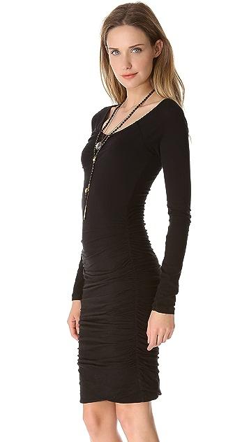 Velvet Yvonne Whisper Ruched Dress