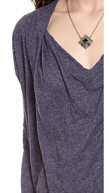 Velvet Percy Cowl Neck Knit Dress