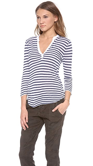 Velvet Michelle Cotton Striped Top
