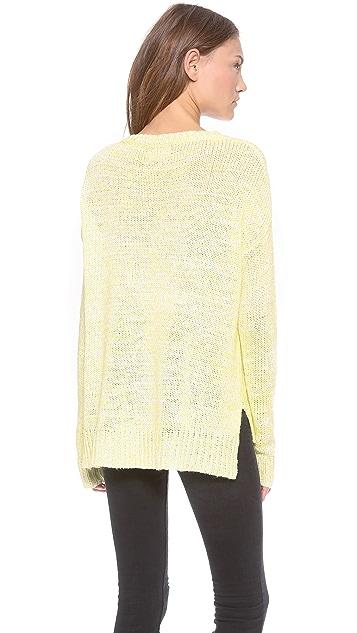 Velvet Carolyn Marled Sweater