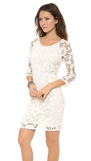 Velvet Leslea Crochet Lace Dress