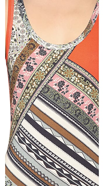 Velvet Lily Aldridge for Velvet Martha Maxi Dress