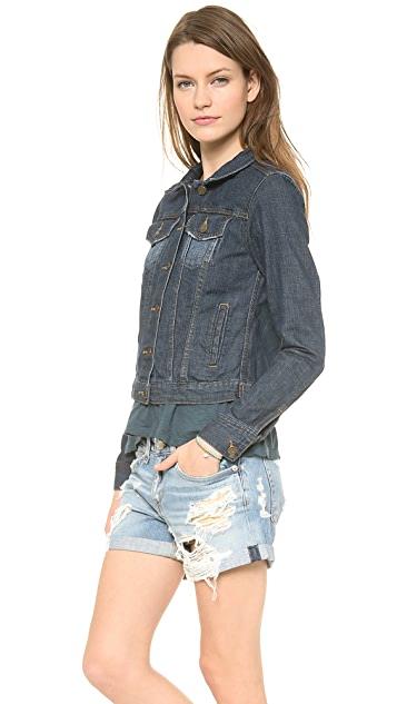 Velvet Lily Aldridge for Velvet Denim Jacket