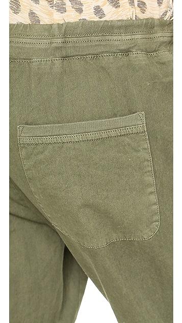 Velvet Noele Cropped Twill Pants