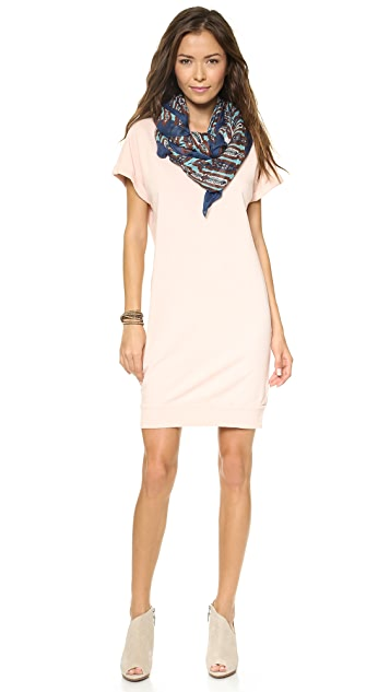 Velvet French Terry Slub Dress