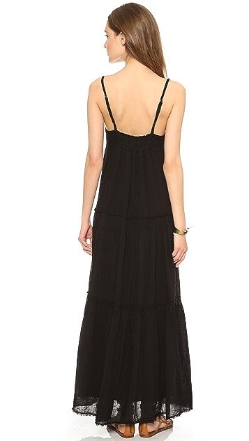 Velvet Delize Tiered Maxi Dress
