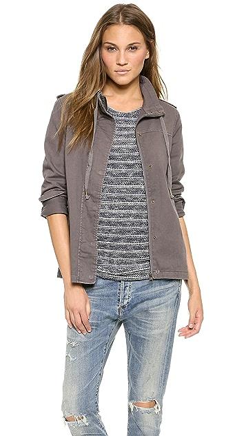 Velvet Rida Twill Jacket
