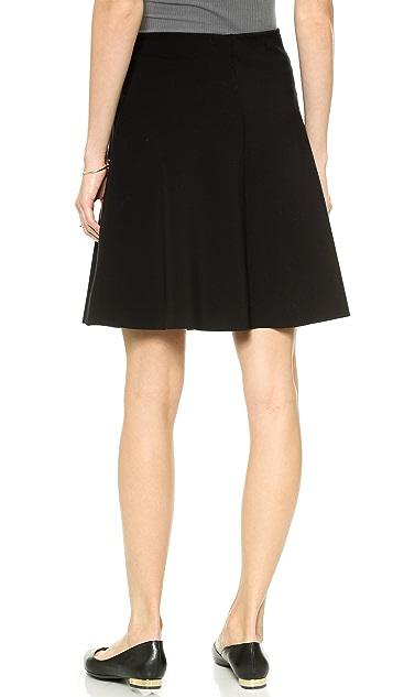 Velvet Ponti Skirt