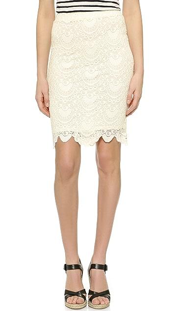 Velvet Kiara Lace Skirt