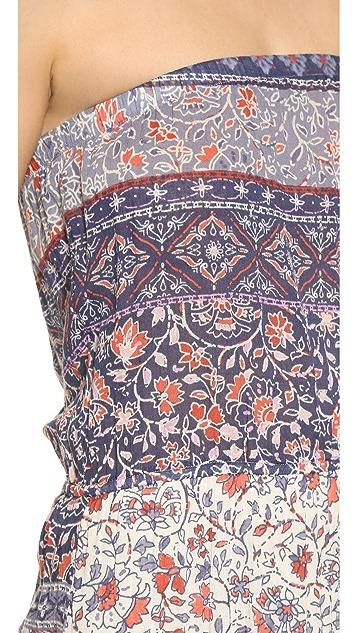 Velvet Kearn Strapless Maxi Dress