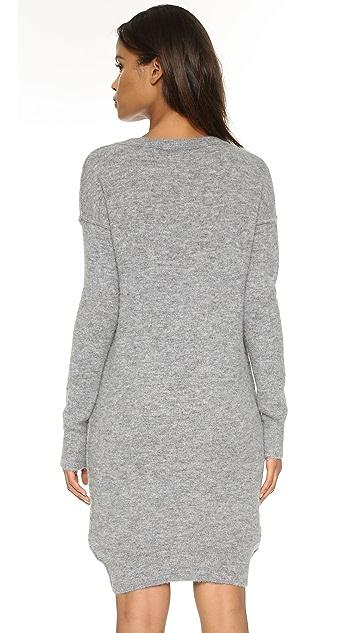 Velvet Gemsa Boucle Knit Dress