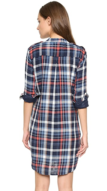 Velvet Gabrielle Plaid Dress