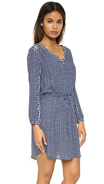 Velvet Beryl Casablanca Print Dress